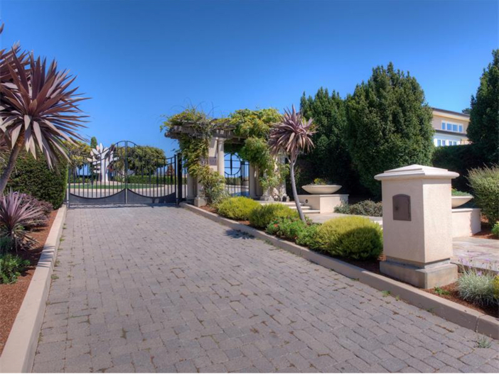 $15 Million Gated Private Mansion in Tiburon, California - Gated For Privacy