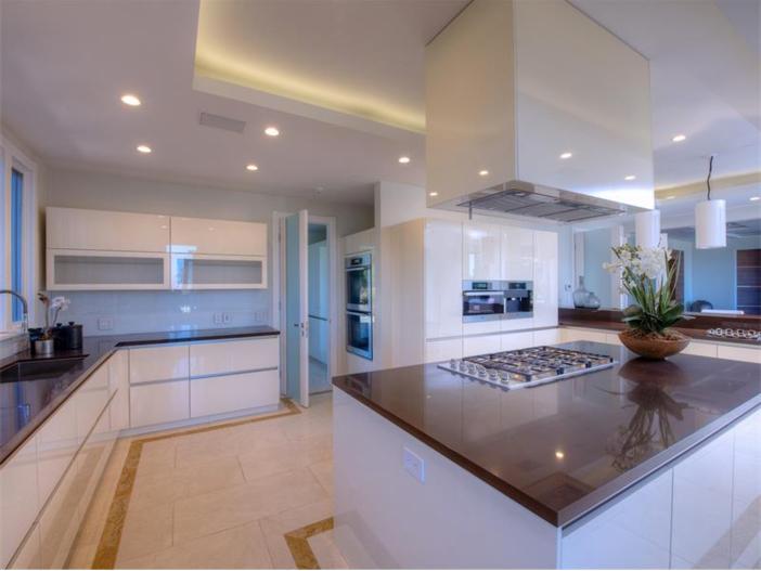 $15 Million Gated Private Mansion in Tiburon, California - Kitchen