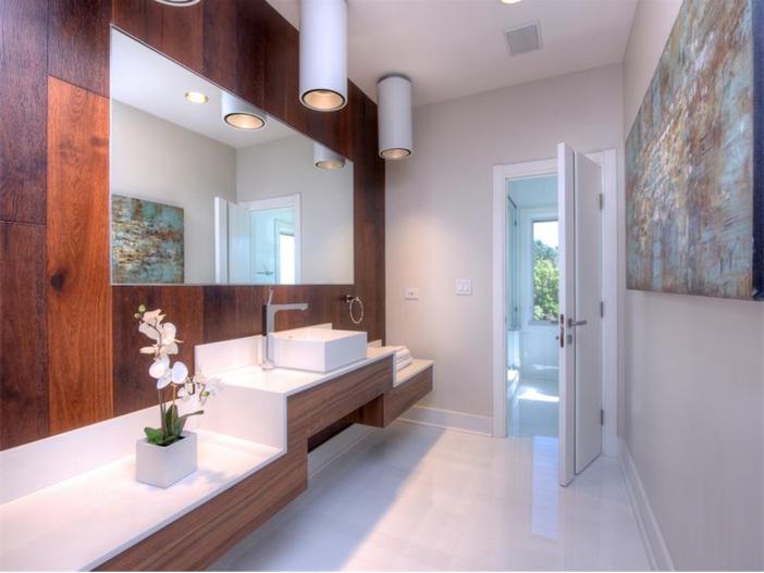 $15 Million Gated Private Mansion in Tiburon, California - Modern Master Bathroom