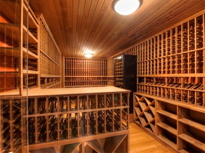 $15 Million Gated Private Mansion in Tiburon, California - Wine Cellar