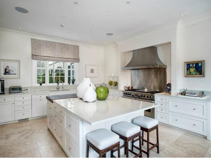 $16.2 Million Stone Georgian Manor in Greenwich, Connecticut - Chef's Kitchen