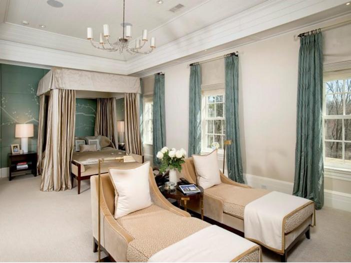 $16.2 Million Stone Georgian Manor in Greenwich, Connecticut - Master Suite