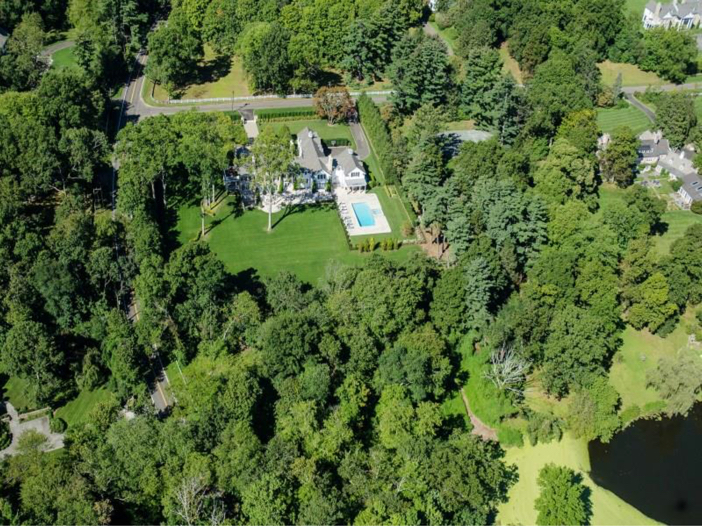 $16.2 Million Stone Georgian Manor in Greenwich, Connecticut - Private Estate
