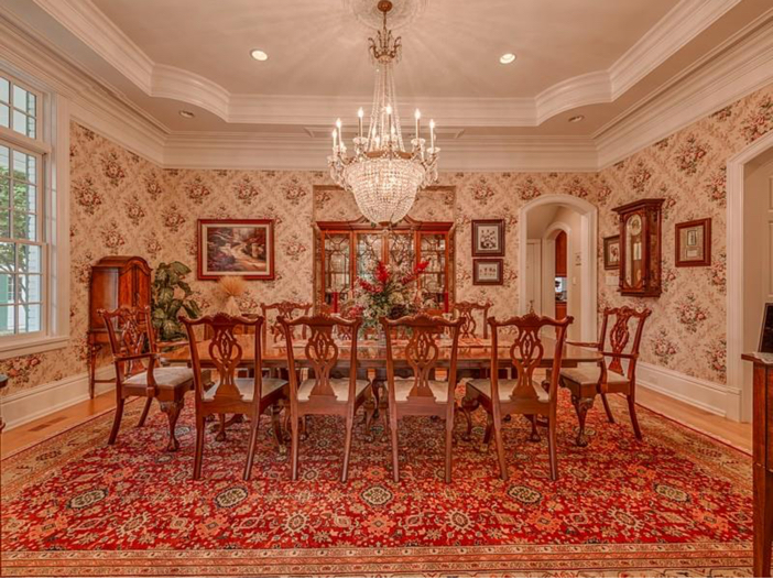 $2.9 Million Greek Revival Mansion in St. Louis, Missouri - Formal Dining Room