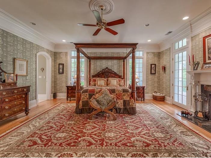 $2.9 Million Greek Revival Mansion in St. Louis, Missouri - Master Suite