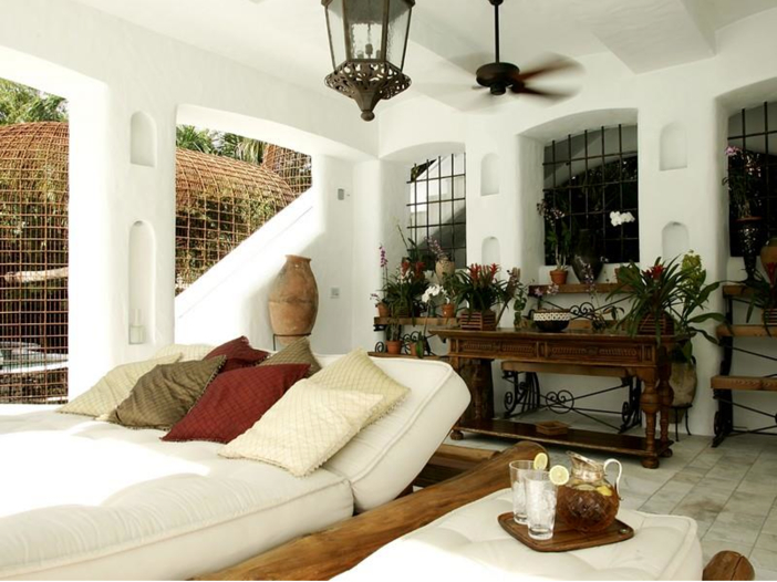 $22.5 Million Modern Mediterranean Mansion in Miami Beach, Florida - Covered Cabana