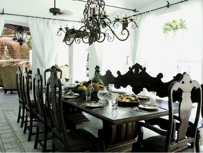 $22.5 Million Modern Mediterranean Mansion in Miami Beach, Florida - Dining Room