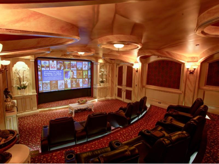 $38.8 Million Stunning Mansion in Los Angeles, California - Home Theater