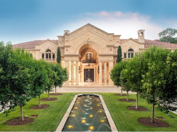 Estate Of The Day 43 Million Neoclassical Mansion In