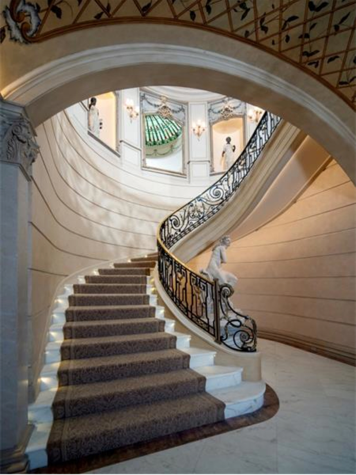 $43 Million Neoclassical Mansion in Houston, Texas - Staircase