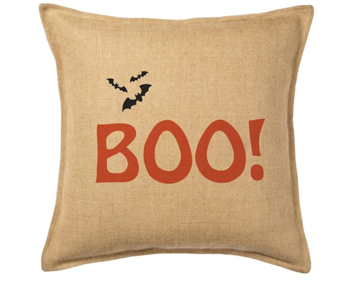 EcoAccents Boo Pillow - Chic Halloween Decor