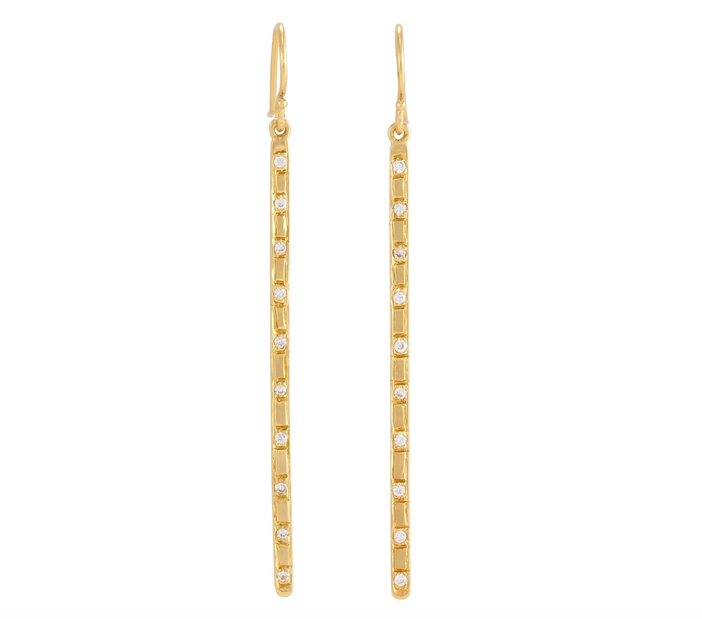 Matchstick Earrings by Melinda Maria