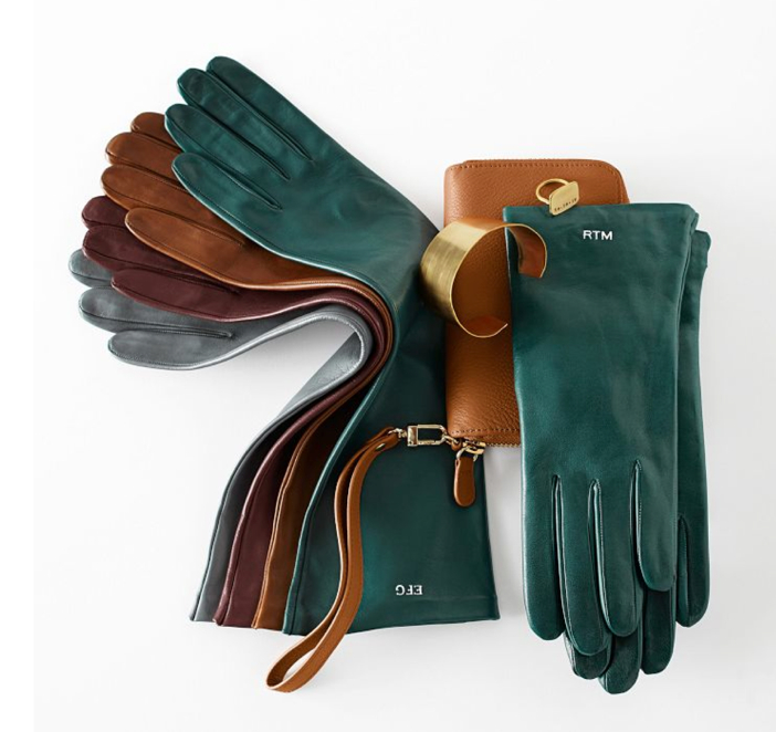 Monogrammed Gloves by Mark and Graham