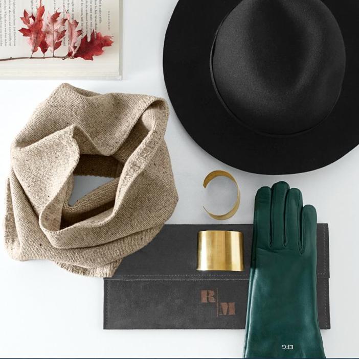 Monogrammed Gloves for Fall
