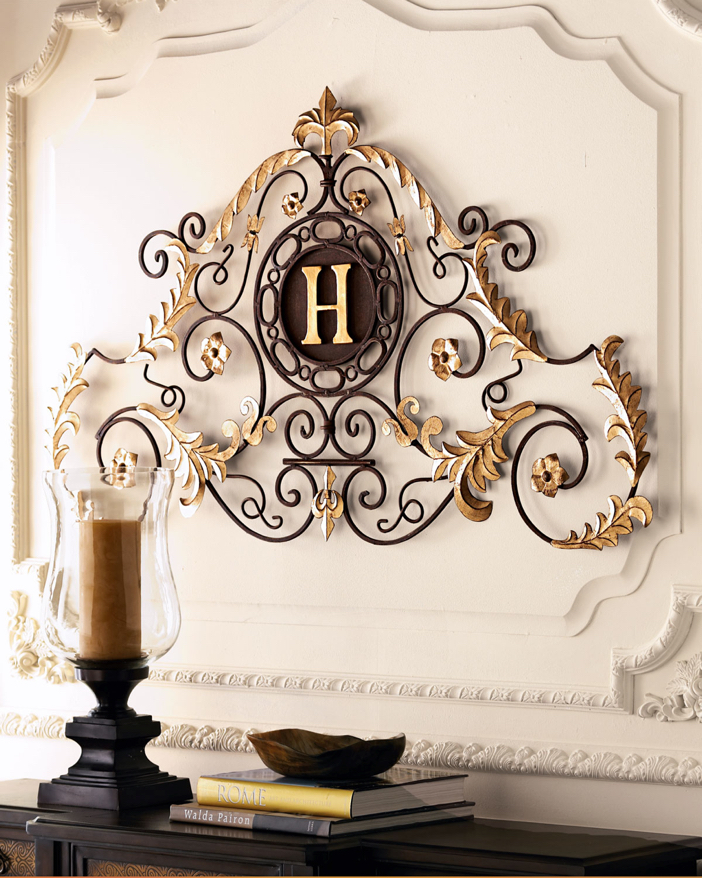 Monogrammed Palace Grill - Luxury Home Decor