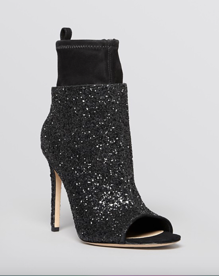 Via Spiga Open Toe Evening Booties