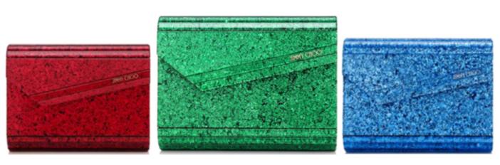 Jimmy Choo Candy Crystal Effect and Glitter Acrylic Clutch Bag 6