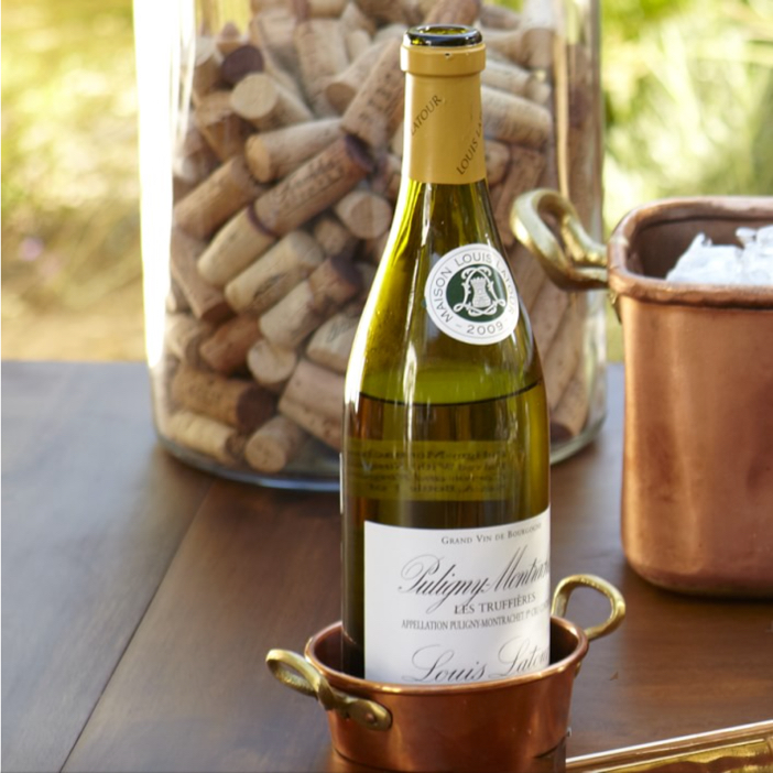 Williams-Sonoma Copper Wine Bottle Coaster