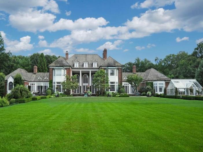 $12.4 Million Georgian Brick Mansion in Greenwich, Connecticut 19
