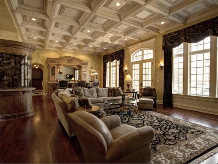 $3.9 Million Majestic Stone Mansion in Barrington Hills, Illinois 4