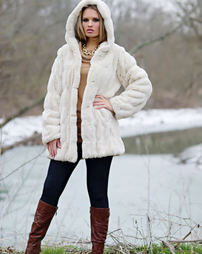 Faux Fur Coat 2