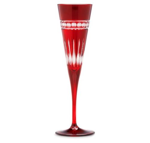 Williams-Sonoma Garnet Somerset Glass 3