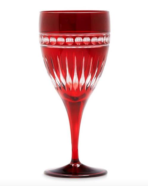 Williams-Sonoma Garnet Somerset Glass