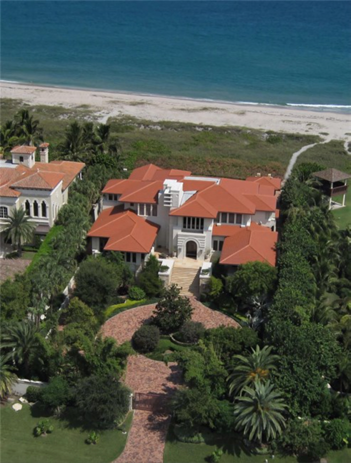 $17.9 Million Gated Oceanfront Mansion in Delray Beach, Florida