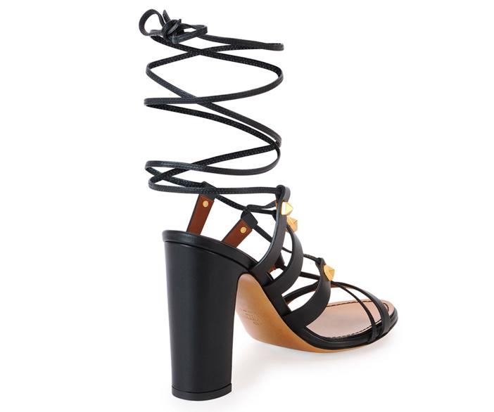 Valentino  Rockstud High-Heel Gladiator Sandal 3
