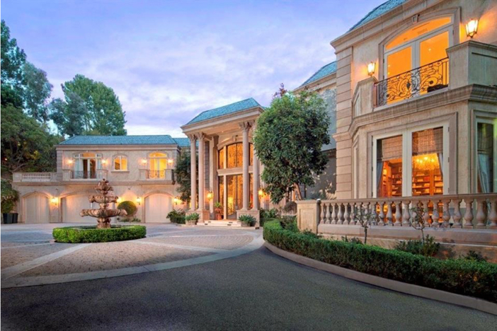 $21 Million Majestic French Manor in Beverly Hills California