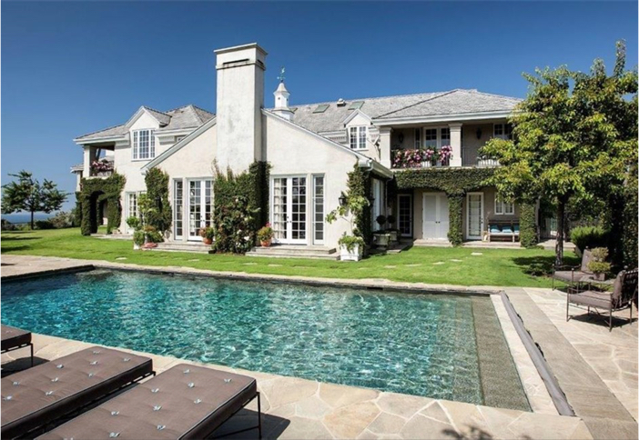 $21.9 Million Traditional Mansion in Pacific Palisades California 10