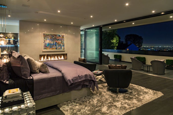 $55 Million Modern Masterpiece with Stunning Views in Los Angeles California 10