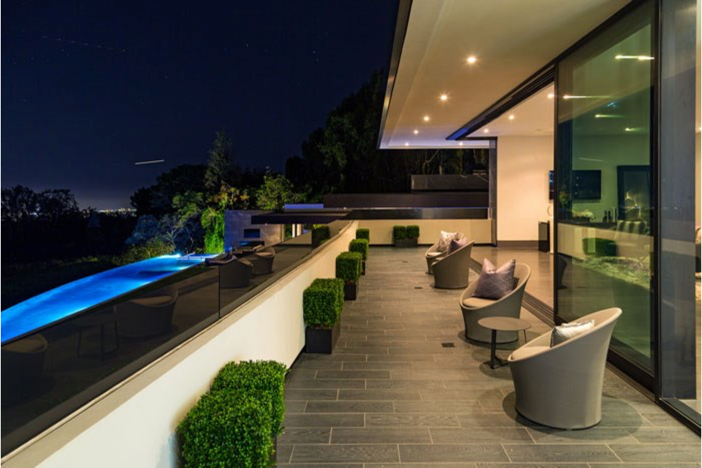 $55 Million Modern Masterpiece with Stunning Views in Los Angeles California 12