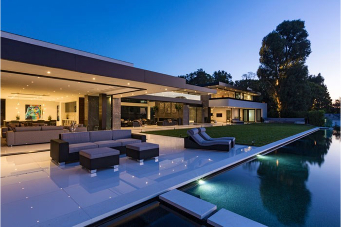 $55 Million Modern Masterpiece with Stunning Views in Los Angeles California 14