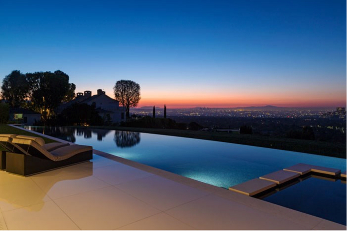 $55 Million Modern Masterpiece with Stunning Views in Los Angeles California 15