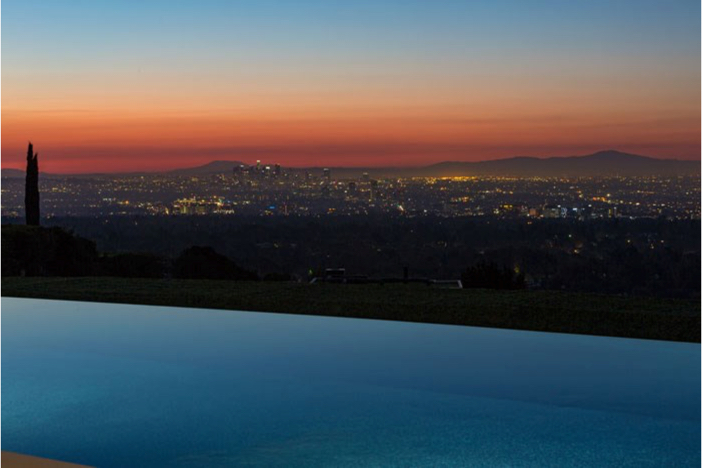 $55 Million Modern Masterpiece with Stunning Views in Los Angeles California 16