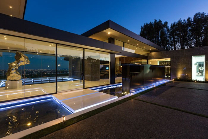 $55 Million Modern Masterpiece with Stunning Views in Los Angeles California 2