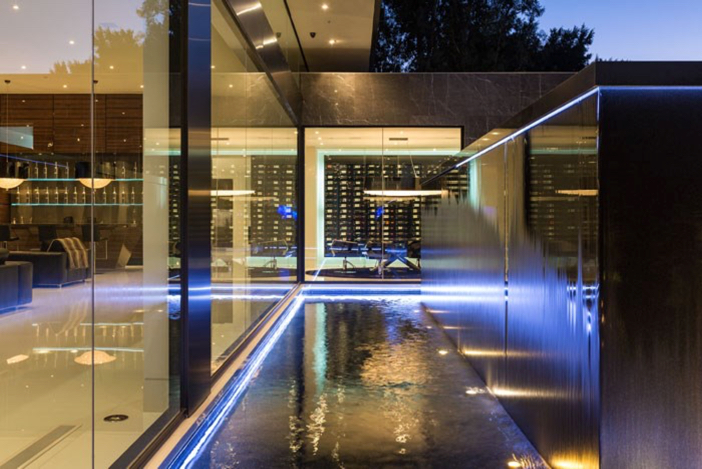 $55 Million Modern Masterpiece with Stunning Views in Los Angeles California 3