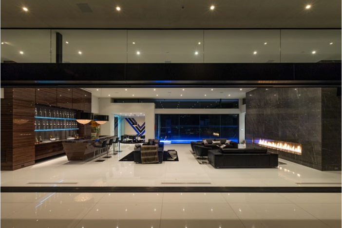 $55 Million Modern Masterpiece with Stunning Views in Los Angeles California 6