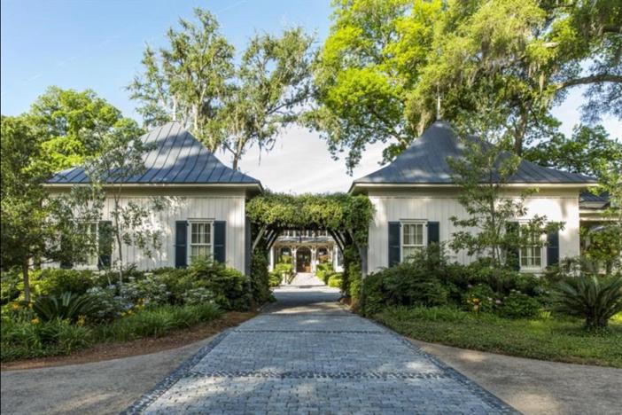 $12.5 Million Paula Deen Riverbend Estate in Savannah Georgia 4