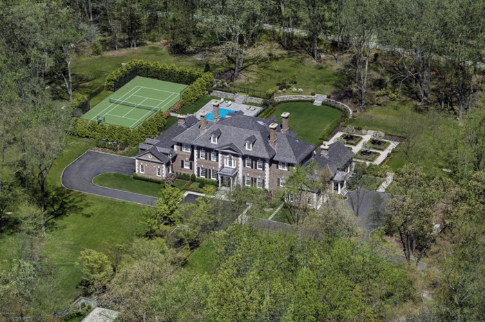 $13.8 Million Stately Brick Georgian Mansion in Greenwich Connecticut