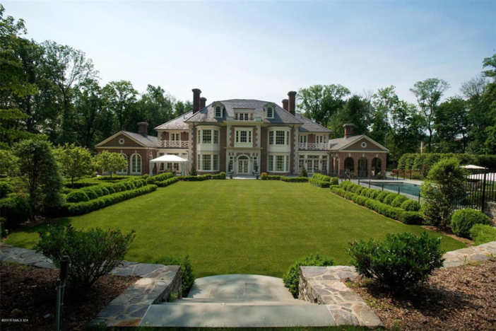 $13.8 Million Stately Brick Georgian Mansion in Greenwich Connecticut 20
