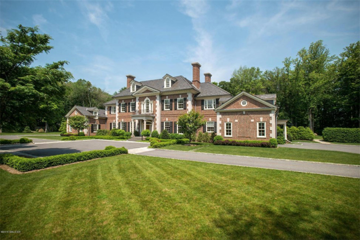 $13.8 Million Stately Brick Georgian Mansion in Greenwich Connecticut 3