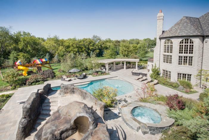 $3.9 Million Stone Manor in Saint Charles Illinois 16