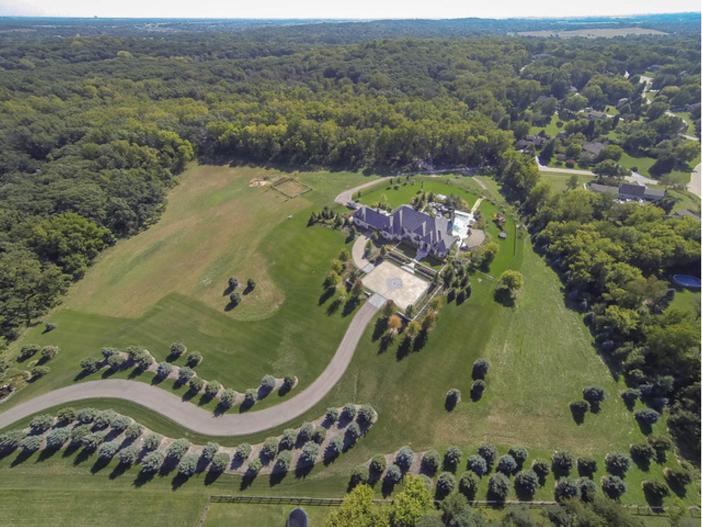 $3.9 Million Stone Manor in Saint Charles Illinois 20