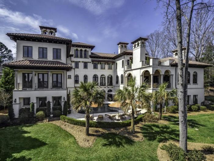 $4.9 Million Mediterranean Villa in North Carolina 2