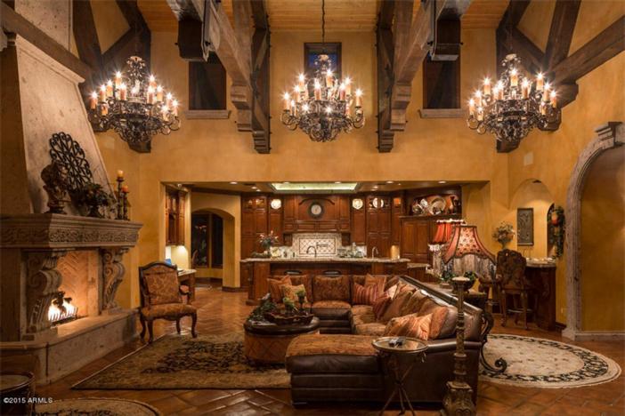 $5.5 Million Mediterranean European Villa in Paradise Valley Arizona 17