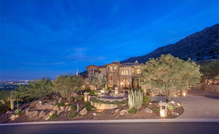 $5.5 Million Mediterranean European Villa in Paradise Valley Arizona 2