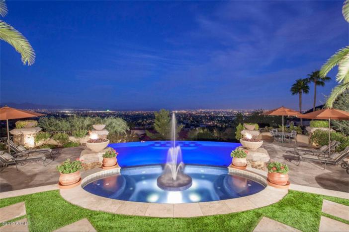 $5.5 Million Mediterranean European Villa in Paradise Valley Arizona 3