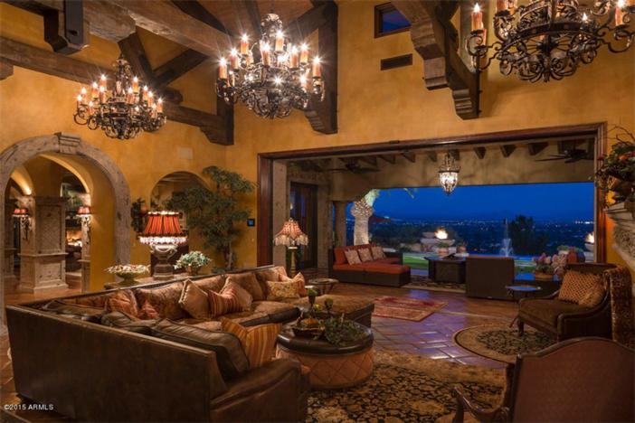 $5.5 Million Mediterranean European Villa in Paradise Valley Arizona 6